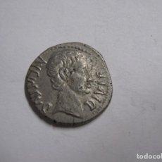Monedas Roma República: IMPERIO ROMANO. AUGUSTO (27 A.C.-14 D.C.). DINAR DE PLATA 3,6 GM). LUGDUNUM, 15-12 A.C. AVGVS. Lote 244487870