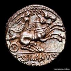 Monedas Roma República: REPÚBLICA ROMANA D. JUNIUS L.F. SILANUS. DENARIO. ROMA 91 AC. XXI. Lote 244584460