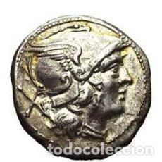 Monedas Roma República: BONITO DENARIO PLATA REPUBLICA ROMANA ROMA ANÓNIMO PROCEDE DE ASTA VARESI. Lote 243841610