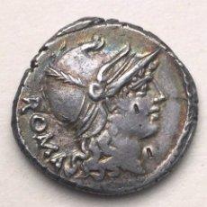 Monedas Roma República: BONITO DENARIO DE PLATA REPUBLICANO REPÚBLICA ROMANA CARISIA T CARISIUS 46 A.C.. Lote 244794475