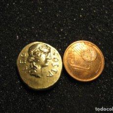 Monedas Roma República: BRUTUS COIN BRONCE DORADO 3.8 GR. ACUÑADO POR PRIMERA VEZ EN EL 42 A. C.. Lote 244822925