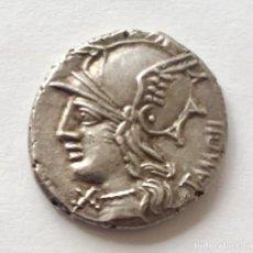 Monedas Roma República: BONITO DENARIO PLATA FAMILIA BAEBIA MARCIUS BAEBIUS TAMPILUS 137 BC. Lote 246256595