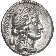 Monedas Roma República: DENARIO REPUBLICANO REPÚBLICA ROMA EGNATIA EGNATIUS MAXSUMUS 75 A.C.. Lote 246299700