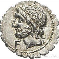 Monedas Roma República: BONITO DENARIO PLATA FAMILIA CORNELIA CORNELIUS SCIPIO ASIAGENUS AÑO 106 ANTES DE CRISTO. Lote 251038850