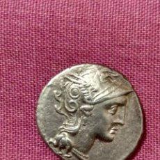Monedas Roma República: EXCELENTE DENARIO DE LA FAMILIA CLAUDIA (106 A.C.) CATÁLOGO CALICO 424 CABEZA DE ROMA. Lote 251836315