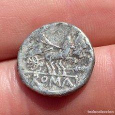 Monedas Roma República: ANÓNIMO-DENARIO-ROMA-VARIANTE GAMBA BAJO LOS CABALLOS-3,6 GRAMOS. N142. Lote 252776540