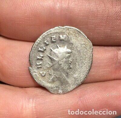ANTONIANO DE GALIENO PLATA. (Numismática - Periodo Antiguo - Roma República)