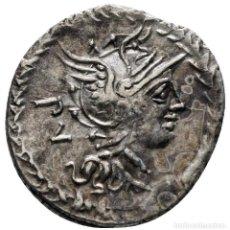 Monedas Roma República: M. LUCILIUS RUFUS 101 . ROME DENARIUS AR 19 MM, 3,83 G. Lote 260325520