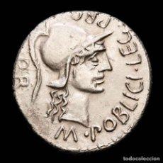 Monedas Roma República: POMPEIUS MAGNUS CON M. POBLICIUS, DENARIO. M POBLICI LEG PRO/PR. Lote 260789870