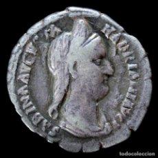 Monedas Roma República: DENARIO DE SABINA - CONCORDIA AVG - 18 MM / 2.80 GR.. Lote 261119170