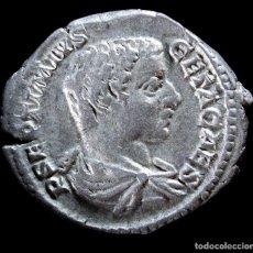 Monedas Roma República: DENARIO DE GETA - PROVVD DEORVM - 20 MM / 3.27 GR.. Lote 261120340