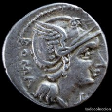 Monedas Roma República: DENARIO REPUBLICANO, FAMILIA FLAMINIA (108 AC) - 16 MM / 3.96 GR.. Lote 261124965
