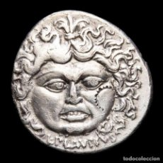 Monedas Roma República: PLAUTIUS PLANCUS DENARIO, ROMA, MEDUSA - PLANCVS AURORA Y CABALLOS. Lote 261557180