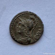 Monete Roma Repubblica: DENARIO ROMANO GENS SERVILIA EN PLATA. Lote 261939830
