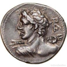 Monedas Roma República: MONEDA, LUCIUS CAESIUS, DENARIUS, 112-111 BC, ROME, EBC, PLATA, CRAWFORD:298/1. Lote 262753280
