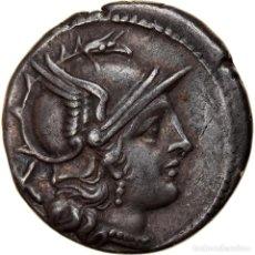 Monedas Roma República: MONEDA, ANONYMOUS, DENARIUS, 207 BC, ROME, EBC, PLATA, CRAWFORD:57/2. Lote 262760205