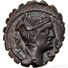 Monedas Roma República: MONEDA, CLAUDIUS, DENARIUS SERRATUS, 79 BC, ROME, EBC, PLATA, CRAWFORD:383/1. Lote 262772685