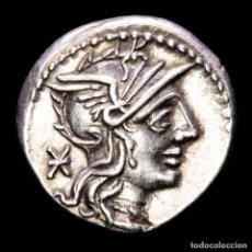 Monedas Roma República: N. FABIUS PICTOR. DENARIO. ROMA 132 AC. N. FABI / PICTOR. Lote 262752220
