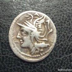 Monedas Roma República: PERIODO REPUBLICA. AÑO 100/97 AC. FAMILIA APPUELIA. DENARIO. PESO 3,8 GR. Lote 262886760