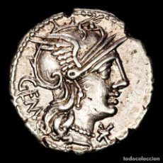 Monedas Roma República: REPUBLICA ROMANA, DENARIO, C. ABURIUS M.F. GEMINUS, SOL C ABVRI ROMA. Lote 262917580