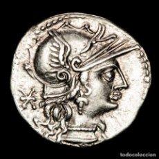 Monedas Roma República: L MINUCIUS DENARIO, ROMA - JUPITER EN CUADRIGA ROMA / L•MINVCI. Lote 262924900