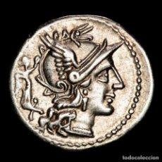 Monedas Roma República: REPÚBLICA ROMANA - C. TERENTIUS LUCANUS. C TER LVC / ROMA DIOSCUROS. Lote 262925895