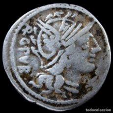 Monedas Roma República: DENARIO REPUBLICANO, FAMILIA SENTIA (101 AC) - 21MM / 3.89 GR.. Lote 269834963