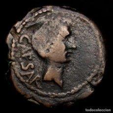 Monedas Roma República: OCTAVIANO - DUPONDIO - NARBO, GALIA. 40 A. C.PROA DE QUINQUIREME.. Lote 270528703