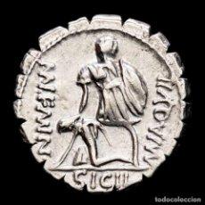 Monedas Roma República: REPUBLICA ROMANA, MN. AQUILLIUS MN. F. DENARIO. ROMA, 71 A.C. SICIL. Lote 270540668