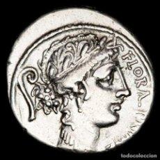 Monedas Roma República: REPÚBLICA ROMANA, DENARIO DE PLATA. C. SERVILIUS. ROMA, 57 A.C.. Lote 270555288
