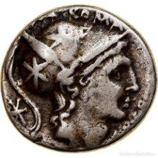 Monedas Roma República: [#841171] MONEDA, LUTATIA, DENARIUS, 109-108 BC, ROME, MBC, PLATA, CRAWFORD:305/1. Lote 276822783