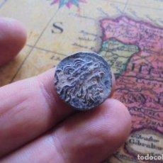 Monedas Roma República: BONITO CUADRANTE ROMANO A IDENTIFICAR, BONITA PATINA NEGRA. Lote 278509098