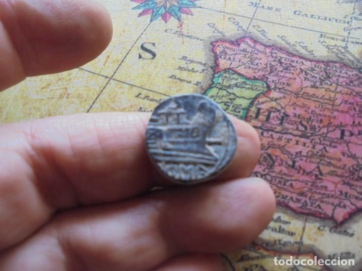 Monedas Roma República: Bonito cuadrante romano a identificar, bonita patina negra - Foto 2 - 278509098