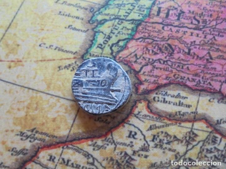 Monedas Roma República: Bonito cuadrante romano a identificar, bonita patina negra - Foto 3 - 278509098