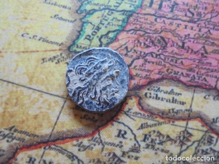Monedas Roma República: Bonito cuadrante romano a identificar, bonita patina negra - Foto 4 - 278509098
