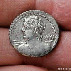 Monedas Roma República: DENARIO REPUBLICANO FAMILIA MARCIUS CALIBIUS 106AC. Lote 286830433