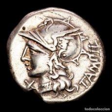 Monedas Roma República: REPÚBLICA ROMANA - M. BAEBIUS Q. F. TAMPILUS, ROMA 137 A.C. APOLO.. Lote 287975448