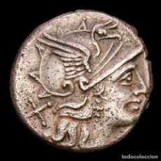 Monedas Roma República: ROMA REPUBLICA L SAUFEIUS DENARIO 152 A.C. L SAVF / ROMA VICTORIA. Lote 287976198