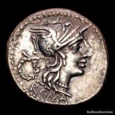 Monedas Roma República: T. CLOELIUS DENARIO, ROMA 128 A.C. VICTORIA, ESPIGA TRIGO T•CLOVLI. Lote 287978918