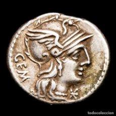 Monedas Roma República: REPUBLICA ROMANA, DENARIO, C. ABURIUS M.F. GEMINUS, SOL C ABVRI ROMA. Lote 287980063