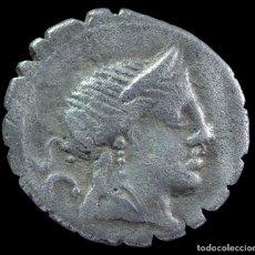 Monedas Roma República: DENARIO REPUBLICANO, FAMILIA NAEVIA (79 A.C.) - 18 MM / 3.47 GR.. Lote 290090073