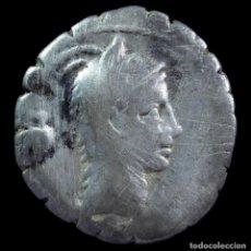 Monedas Roma República: DENARIO REPUBLICANO, FAMILIA ROSCIA (59 A.C.) - 18 MM / 3.51 GR.. Lote 290090773