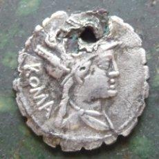 Monedas Roma República: ROMANOS. POBLICIVS. Lote 292346158