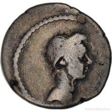 Monedas Roma República: [#971183] MONEDA, JULIUS CAESAR, DENARIUS, 40 BC, ROME, BC+, PLATA, BMC:4237. Lote 293588478