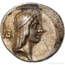 Monedas Roma República: [#970624] MONEDA, CALPURNIUS PISO FRUGI, DENARIUS, 61 BC, ROME, MBC+, PLATA. Lote 293596213