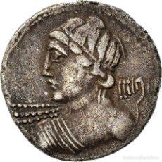 Monedas Roma República: [#970623] MONEDA, LICINIUS, DENARIUS, 84 BC, ROME, MBC+, PLATA, CRAWFORD:354/1. Lote 293597548