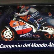 Motos a escala: ALEX CRIVILLE. CAMPEON DEL MUNDO DE MOTOCICLISMO 500 CC GUSVAL. Lote 26632270