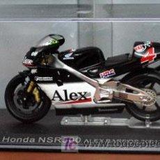 Motos a escala: HONDA NSR500 ALEX BARROS 2001. Lote 27229095
