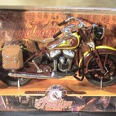 Motos a escala: INDIAN SPORT SCOUT 1934 ESCALA 1/12. Lote 10862706