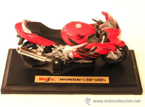HONDA CBR 600F4 / MAISTO 1.18 (Juguetes - Motos a Escala)